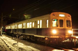 2012年1月4日 上田電鉄別所線 八木沢 7200系7255F