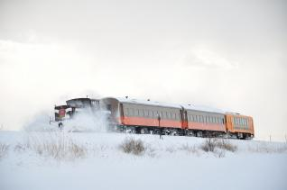 2012年1月10日 津軽鉄道線 嘉瀬~金木 DD352+オハ462+オハフ331+津軽21-103