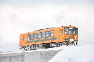 2012年1月10日 津軽鉄道線 金木~嘉瀬 津軽21-105