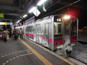 2012年1月9日 奥羽本線 弘前 701系