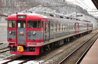 2012年1月4日 しなの鉄道線 屋代 169系S54編成