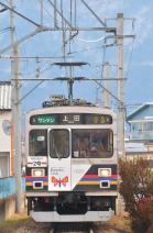 2012年1月27日 上田電鉄別所線 寺下~上田原 1000系1003F