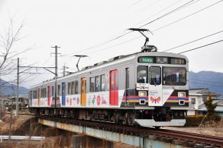 2012年1月27日 上田電鉄別所線 中塩田~下之郷 1000系1003F