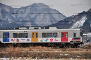 2012年1月27日 上田電鉄別所線 下之郷~中塩田 1000系1003F