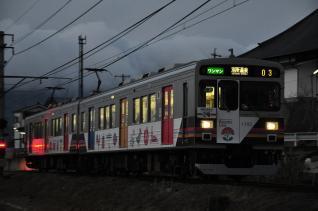2012年1月27日 上田電鉄別所線 寺下~神畑 1000系1003F
