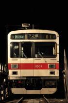 2012年1月27日 上田電鉄別所線 下之郷 1000系1001F