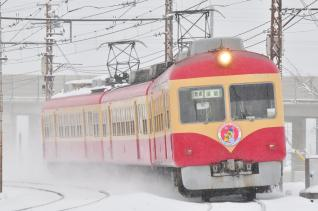 2012年1月28日 長野電鉄長野線 2000系D編成