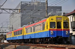2012年2月1日 東急多摩川線 鵜の木~下丸子 デヤ7290+サヤ7590+デヤ7200