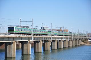2012年2月4日 JR東日本東海道本線 茅ヶ崎~平塚 E231系K-29編成