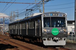 2012年2月9日 静岡鉄道静岡清水線 長沼~柚木 1000系1007-1507