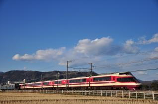 2012年2月19日 小田急電鉄小田原線 開成~栢山 10000形10001×11