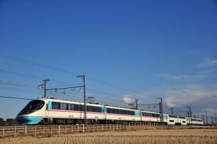 2012年2月19日 小田急電鉄小田原線 栢山~開成 20000形20002×7