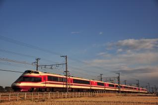2012年2月19日 小田急電鉄小田原線 栢山~開成 20000形10001×11