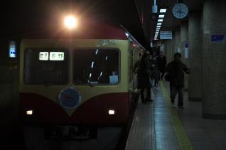 2012年2月25日 長野電鉄長野線 長野 2000系D編成