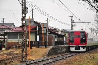 2012年2月25日 長野電鉄屋代線 東屋代 2100系E1編成