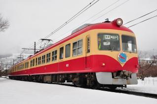 2012年2月25日 長野電鉄長野線 夜間瀬~上条 2000系D編成