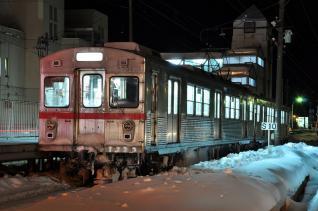 2012年2月27日 十和田観光電鉄線 十和田市 7700系7701-7901