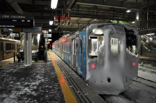 2012年2月27日 青い森鉄道 八戸 青い森701系