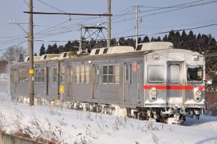 2012年2月28日 十和田観光電鉄 古里~七百 7700系7701-7901