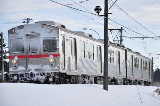 2012年2月28日 十和田観光電鉄 古里~三農校前 7700系7903-7703