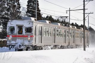 2012年2月28日 十和田観光電鉄 古里~三農校前 7700系7901-7701