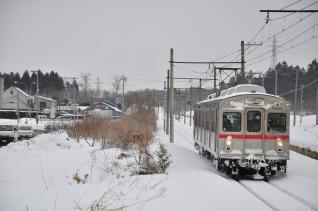 2012年2月28日 十和田観光電鉄 古里 7700系7903-7703