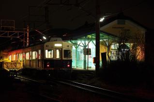 2012年3月8日 上田電鉄別所線 中塩田 7200系7255F