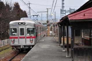 2012年3月9日 長野電鉄屋代線 東屋代 3500系N5編成