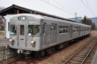 2012年3月9日 長野電鉄屋代線 松代 3500系O6編成