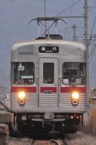 2012年3月9日 長野電鉄屋代線 金井山 3500系O2編成