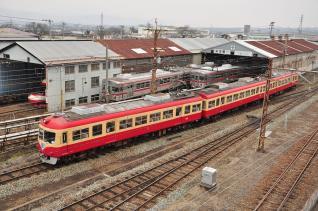 2012年3月9日 長野電鉄長野線 須坂 2000系D編成
