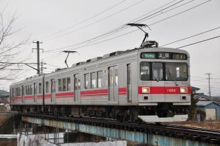 2012年3月9日 上田電鉄別所線 中塩田~下之郷 1000系1004F