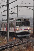 2012年3月9日 上田電鉄別所線 下之郷~中塩田 1000系1002F