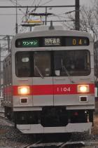 2012年3月9日 上田電鉄別所線 城下~三好町 1000系1004F