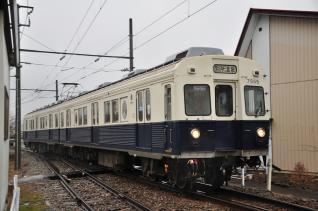 2012年3月9日 上田電鉄別所線 城下 7200系7255F