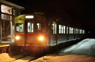 2012年3月15日 十和田観光電鉄 柳沢 7700系7701-7901