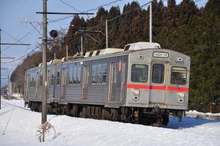 2012年3月16日 十和田観光電鉄 三農校前~古里 7700系7703-7903