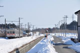 2012年3月16日 十和田観光電鉄 七百~古里 7700系7901-7701