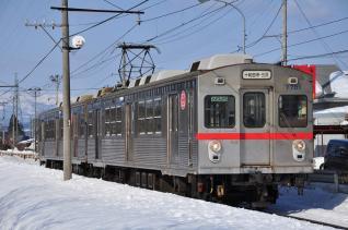 2012年3月16日 十和田観光電鉄 ひがし野団地~工業高校前 7700系7701-7901