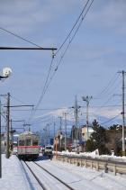 2012年3月16日 十和田観光電鉄 ひがし野団地~工業高校前 7700系7703-7903