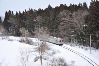 2012年3月16日 十和田観光電鉄 大曲~柳沢 7700系7901-7701