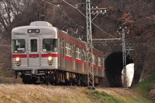 2012年3月25日 長野電鉄屋代線 大室~金井山 3500系N6編成