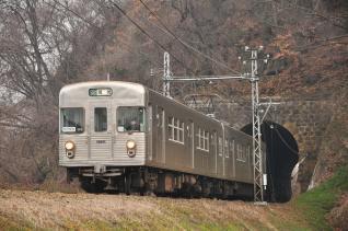2012年3月25日 長野電鉄屋代線 大室~金井山 3500系O6編成