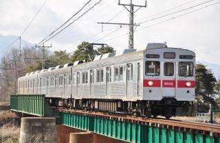 2012年3月25日 長野電鉄長野線 北須坂~小布施 8500系T2編成