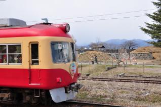 2012年3月25日 長野電鉄屋代線 松代 2000系D編成