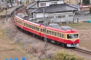2012年3月25日 長野電鉄屋代線 大室~信濃川田 2000系D編成