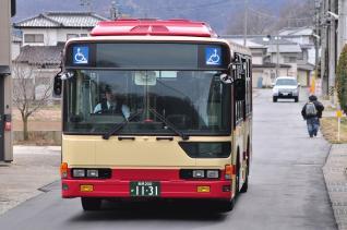2012年3月25日 長電バス1131号車 屋代線代替バス試運転