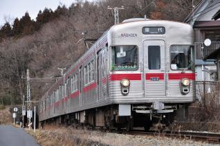2012年3月25日 長野電鉄屋代線 信濃川田~大室 3600系L2編成