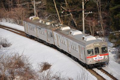 2012年3月29日 十和田観光電鉄 大曲~柳沢 7700系7901-7701