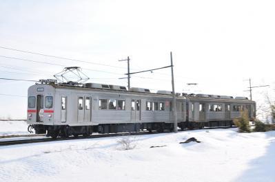2012年3月29日 十和田観光電鉄 柳沢~大曲 7200系7305+7204